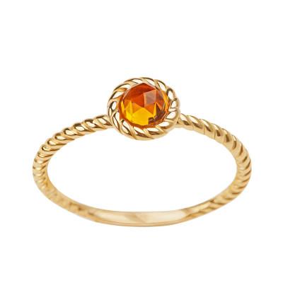 pierścionek-zloty-z-cytrynem-dolce-oro-1