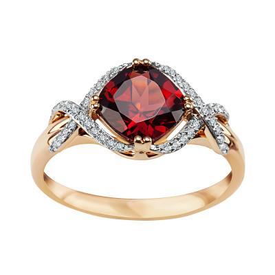 pierścionek-z-żółtego-złota-z-diamentami-i-granatem-1