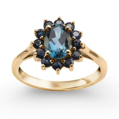 pierścionek-z-żółtego-złota-z-szafirami-i-topazem-1