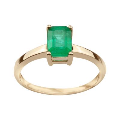 pierścionek-z-żółtego-złota-ze-szmaragdem-1