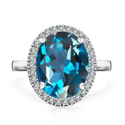 pierścionek-z-białego-złota-z-diamentami-i-topazem-jubilé-1