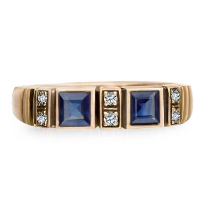 pierścionek-złoty-z-szafirami-z-diamentami-kolekcja-wiktoriańska-1