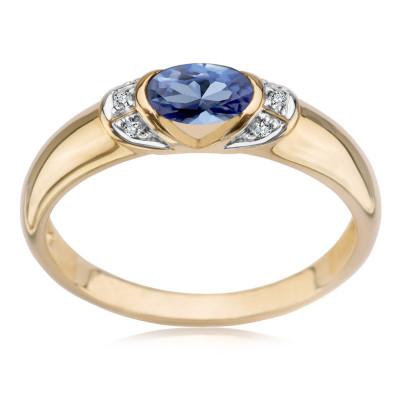 pierścionek-z-dwukolorowego-złota-z-diamentami-i-szafirem-1