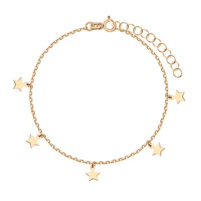 bransoletka-pozłacana-gwiazdy-1