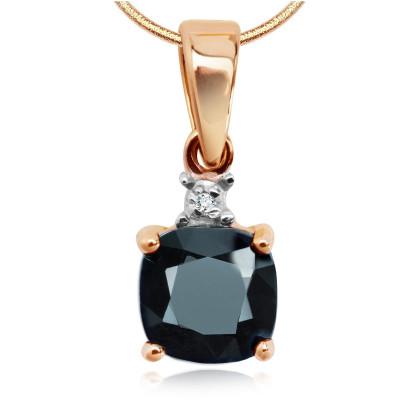 zawieszka-z-dwukolorowego-złota-z-diamentem-i-szafirem-1