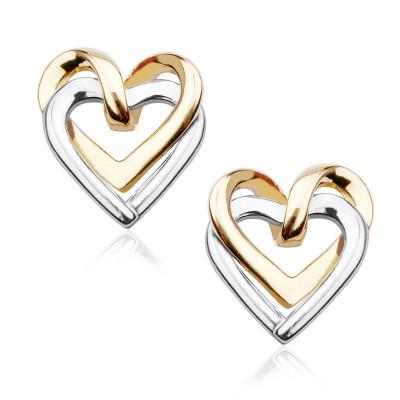 kolczyki-z-dwukolorowego-złota-serca-1