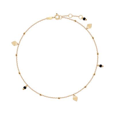 bransoletka-złota-z-cyrkoniami-na-nogę-1