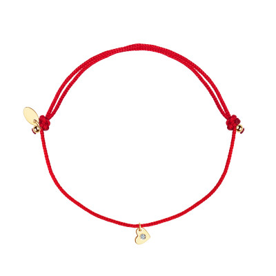 bransoletka-złota-z-diamentem-na-sznurku-serce-1