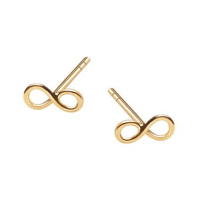 kolczyki-złote-nieskończoność-sempre--1
