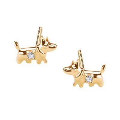 kolczyki-złote-z-cyrkoniami-pies-mini--1