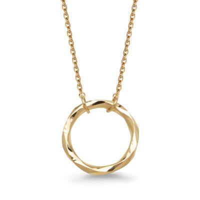 naszyjnik-złoty-kółko-la-prima-shine-1