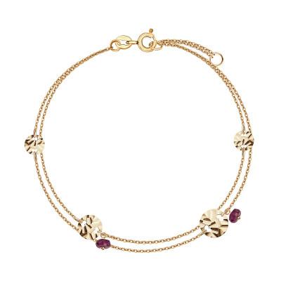 bransoletka-złota-z-rubinami-lucky-1