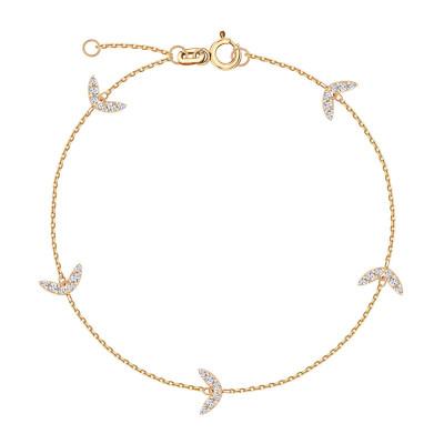 lunaria-bransoletka-złota-z-cyrkoniami-1