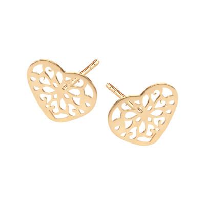 kolczyki-złote-serce-1
