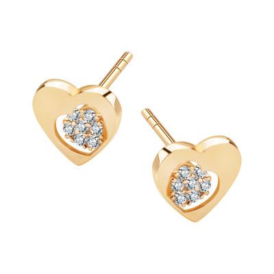 kolczyki-złote-z-cyrkoniami-serce-1