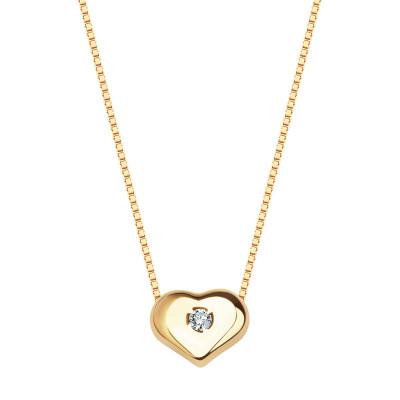 naszyjnik-złoty-z-diamentem-serce-1