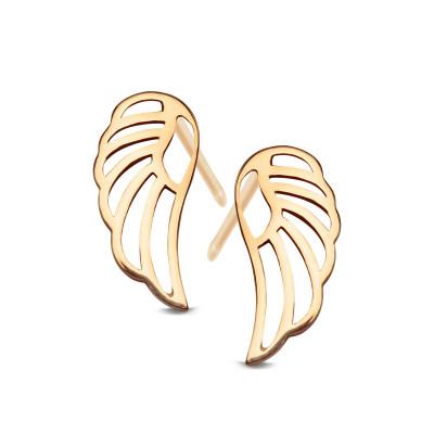 kolczyki-złote-skrzydła-1