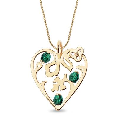 zawieszka-złota-ze-szkłem-serce-paisley-1