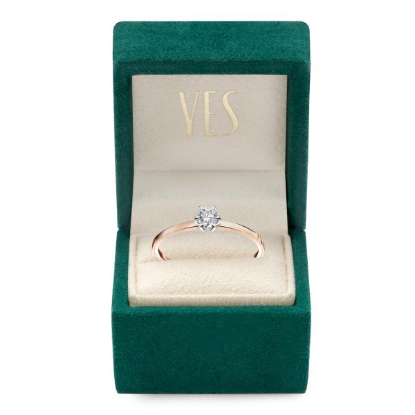 Zdjęcie Lotos - pierścionek z diamentem #4