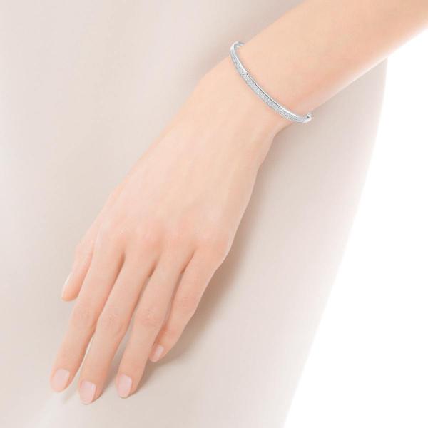 Zdjęcie Scarlett - bransoletka srebrna z cyrkoniami #2