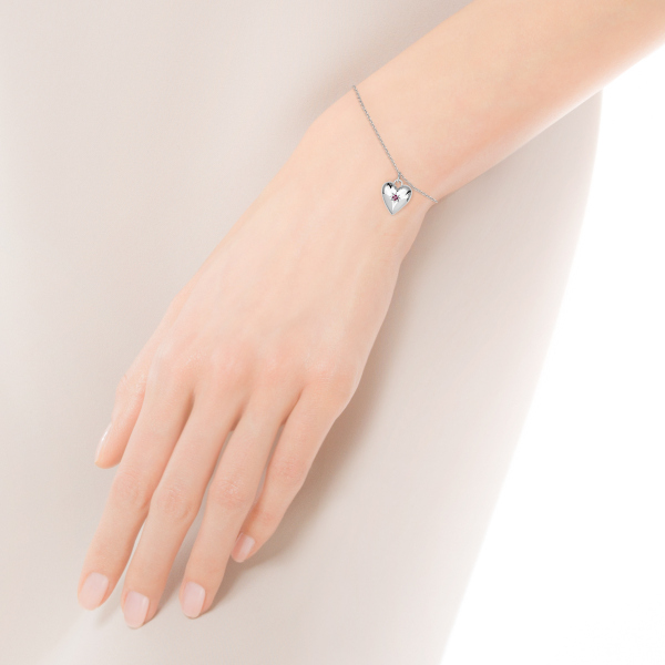 Zdjęcie BeLoved - bransoletka srebrna z rubinem #3