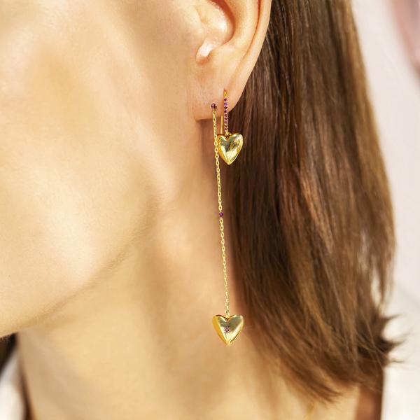 beloved-kolczyki-srebrne-pokryte-złotem-z-rubinami-4