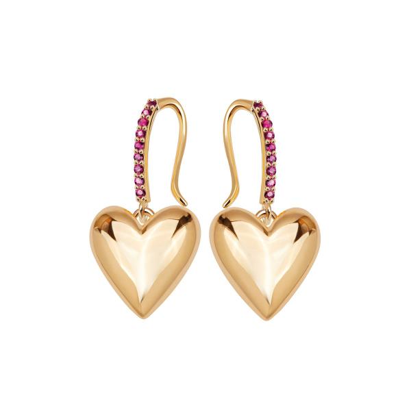 beloved-kolczyki-srebrne-pokryte-złotem-z-rubinami-1
