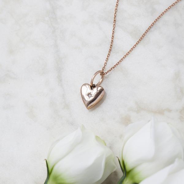 naszyjnik-srebrny-pokryty-różowym-złotem-z-diamentem-beloved-2