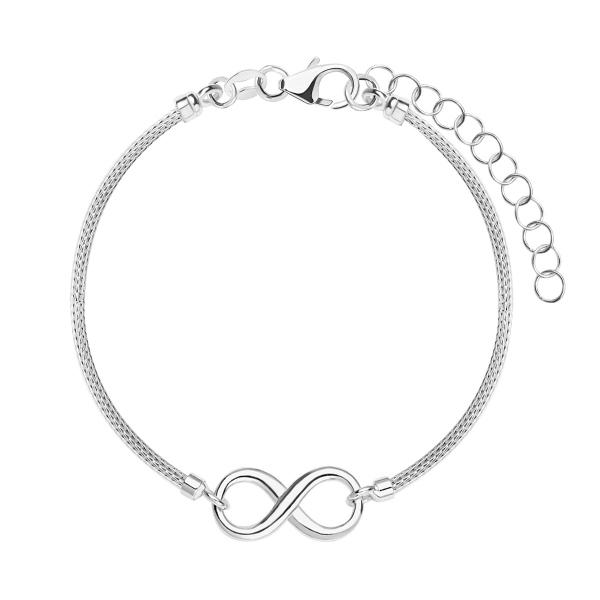 bransoletka-srebrna-nieskończoność-sempre-1