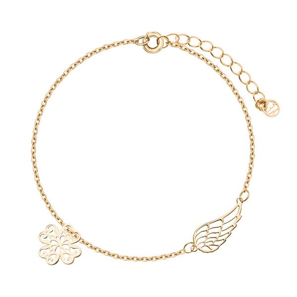 bransoletka-srebrna-pokryta-złotem-koniczyna--1