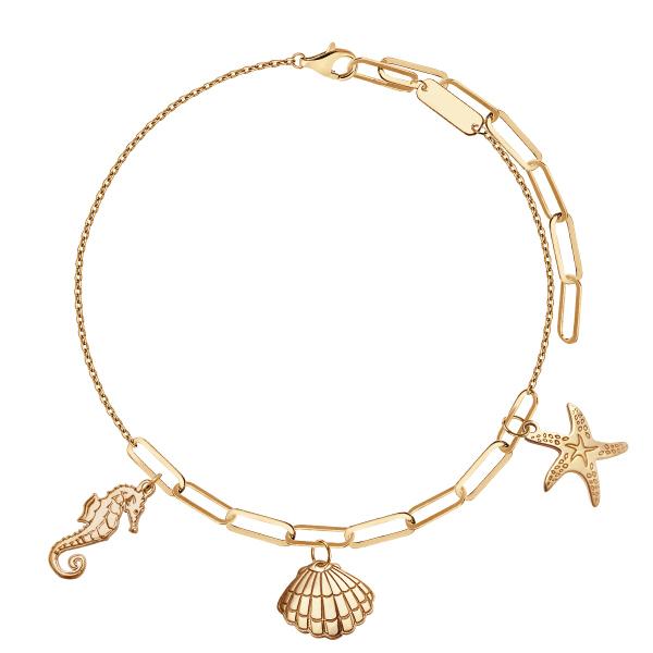 bransoletka-srebrna-pokryta-złotem-1