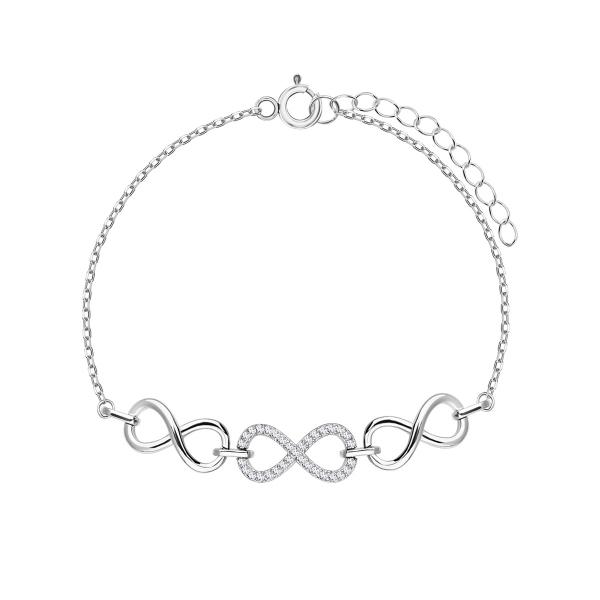 bransoletka-srebrna-z-cyrkoniami-nieskończoność-sempre-1
