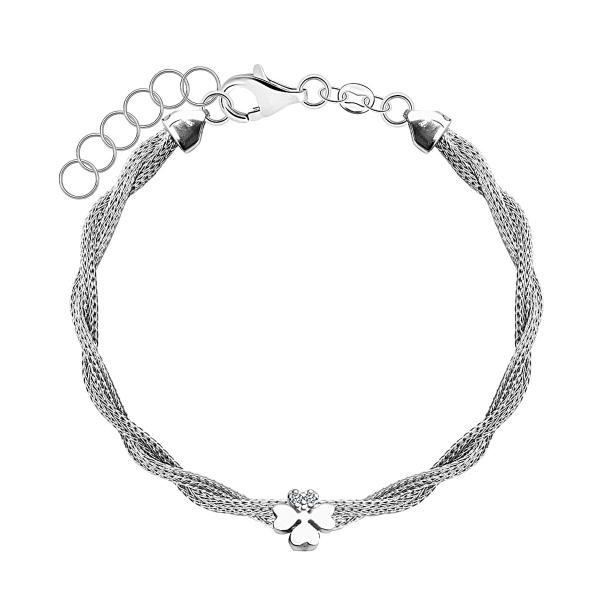 Zdjęcie Gloss - bransoletka srebrna z cyrkoniami  #1