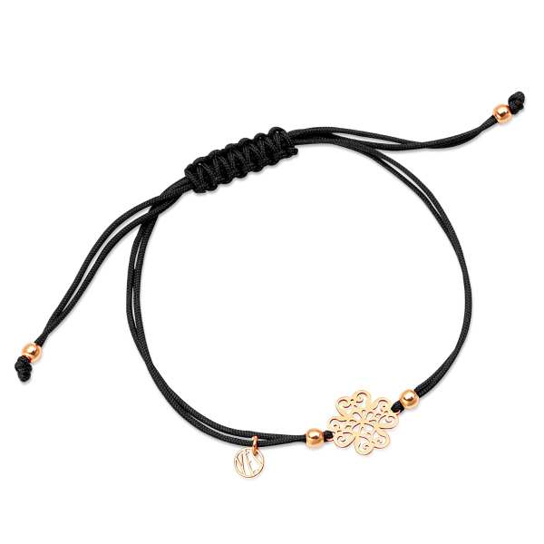 Zdjęcie Hippie - bransoletka na sznurku  #1