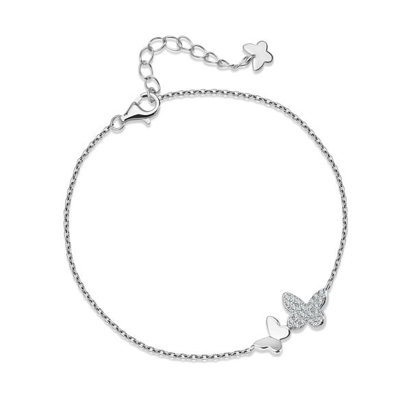 Zdjęcie Molly - bransoletka srebrna z cyrkoniami #1