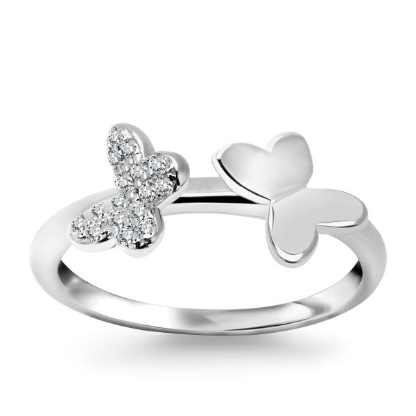 Zdjęcie Molly - pierścionek srebrny z cyrkoniami #1