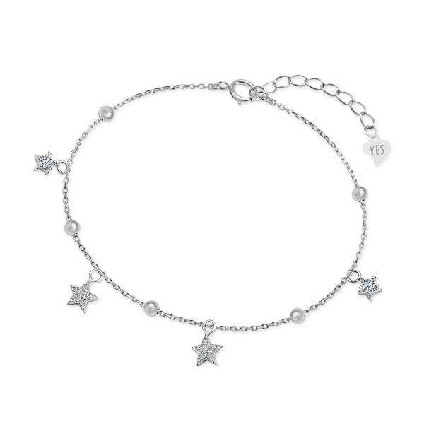Zdjęcie Night Sky - bransoletka ze srebra z cyrkoniami #1