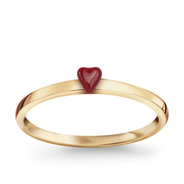 pierścionek serduszko YES