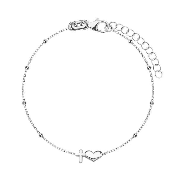bransoletka-srebrna-krzyżyk-simple-1
