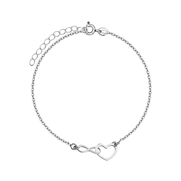 bransoletka-srebrna-nieskończoność-simple-1