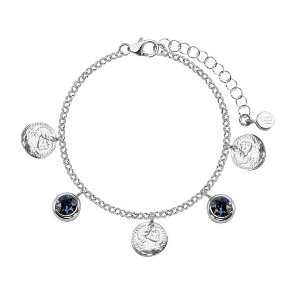bransoletka-srebrna-ze-szkłem-monety-1