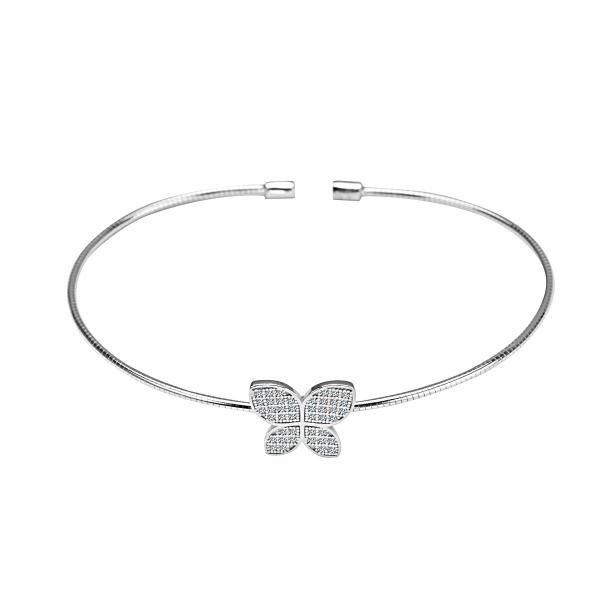 Zdjęcie Unique - bransoletka ze srebra z cyrkoniami #1