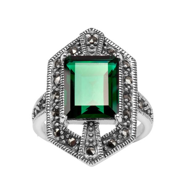 srebrny-pierścionek-z-markazytami-i-kwarcem-1