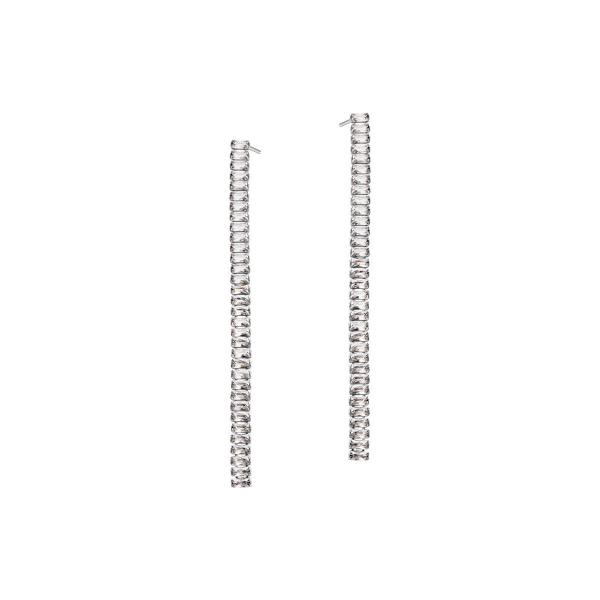 Zdjęcie Unique - kolczyki srebrne z cyrkoniami #1