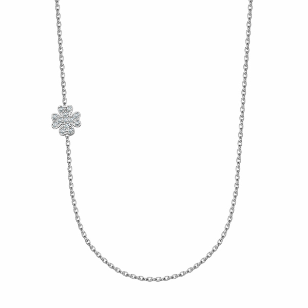 Zdjęcie Unique - naszyjnik srebrny z cyrkoniami #1