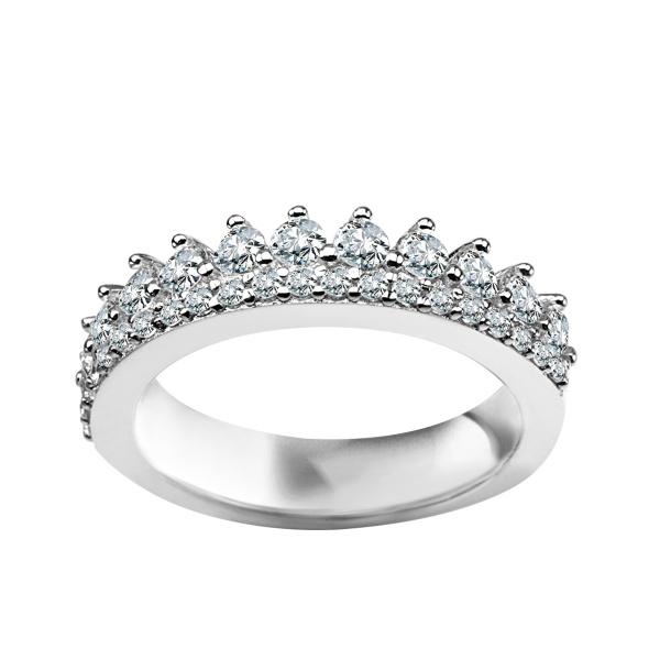 Zdjęcie Unique - pierścionek srebrny z cyrkoniami #1
