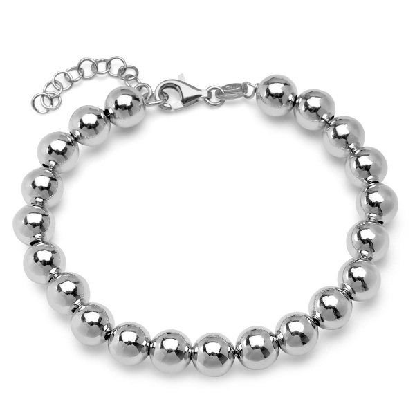 Zdjęcie Simple - srebrna bransoletka #1