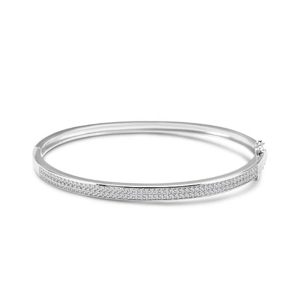 Zdjęcie Scarlett - bransoletka srebrna z cyrkoniami #1