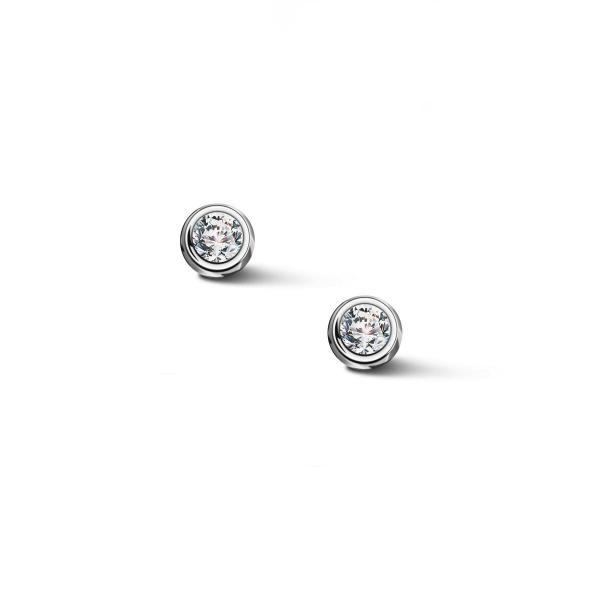 Zdjęcie Zodiak - kolczyki srebrne z cyrkoniami #1
