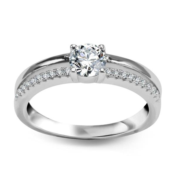 Zdjęcie Scarlett – srebrny pierścionek #1